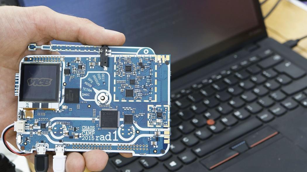Figure 1 - Rad1o Badge
