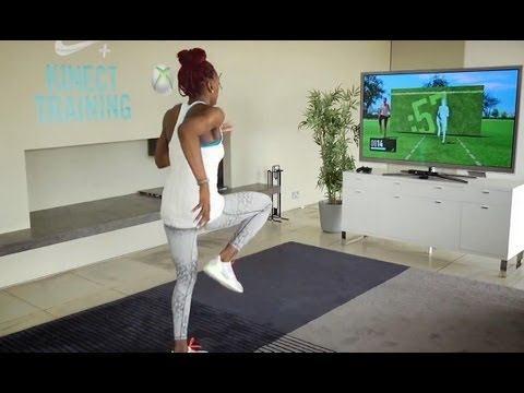 Figure 3. Nike+ Kinect Training