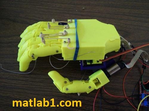 robot hand ardunio