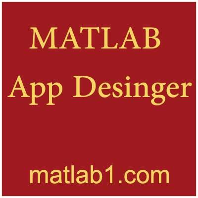 MATLAB app designer tutorial english download train